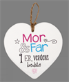 Message Heart - Mor & Far