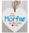 Message Heart - Morfar