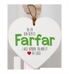 Message Heart - Farmor