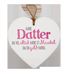 Message Heart - Datter
