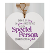 Message Heart - Special Person