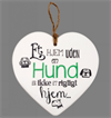 Message Heart - Hund